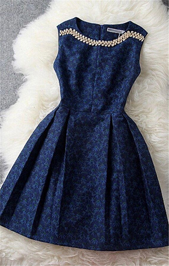 Blue Sleeveless
