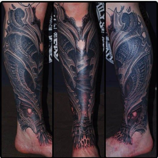 Biomechanical Leg Sleeve
