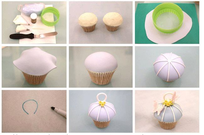 Vintage Bird Cage Cupcake http://cakejournal.com/tutorials/how-to-make-a-vintage-bird-cage-cupcake/