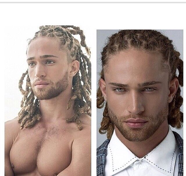 Men with locs. I put him under LOCS and YUMMY. tee hee