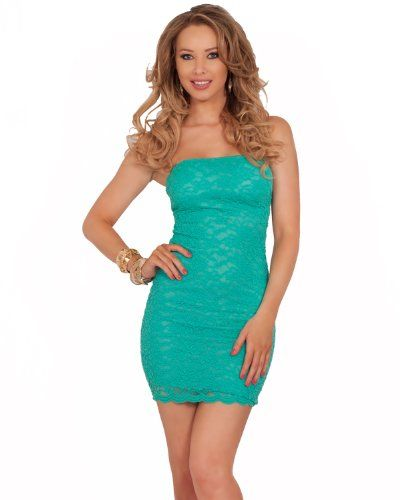 Lace straight neck strapless fitted bodicon pull up for Straight up margarita
