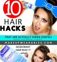 10 Lazy Girls HAIR HACKS That Are Actually Kinda Useful!