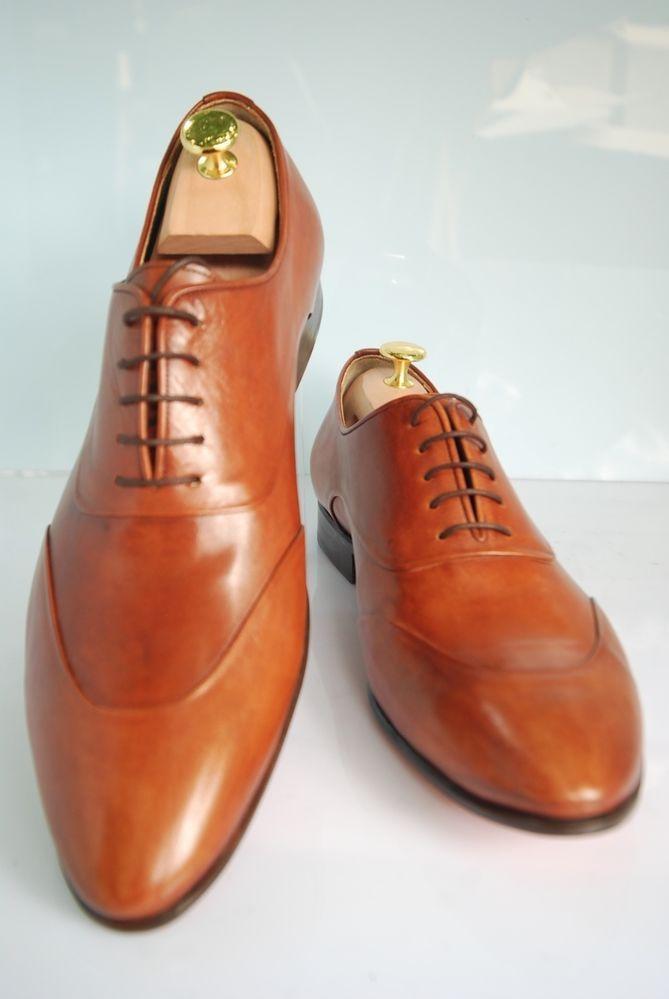 Semi Handmade Oscar William English Shoemaker, Crawford Street,  (brioni,zilli) #