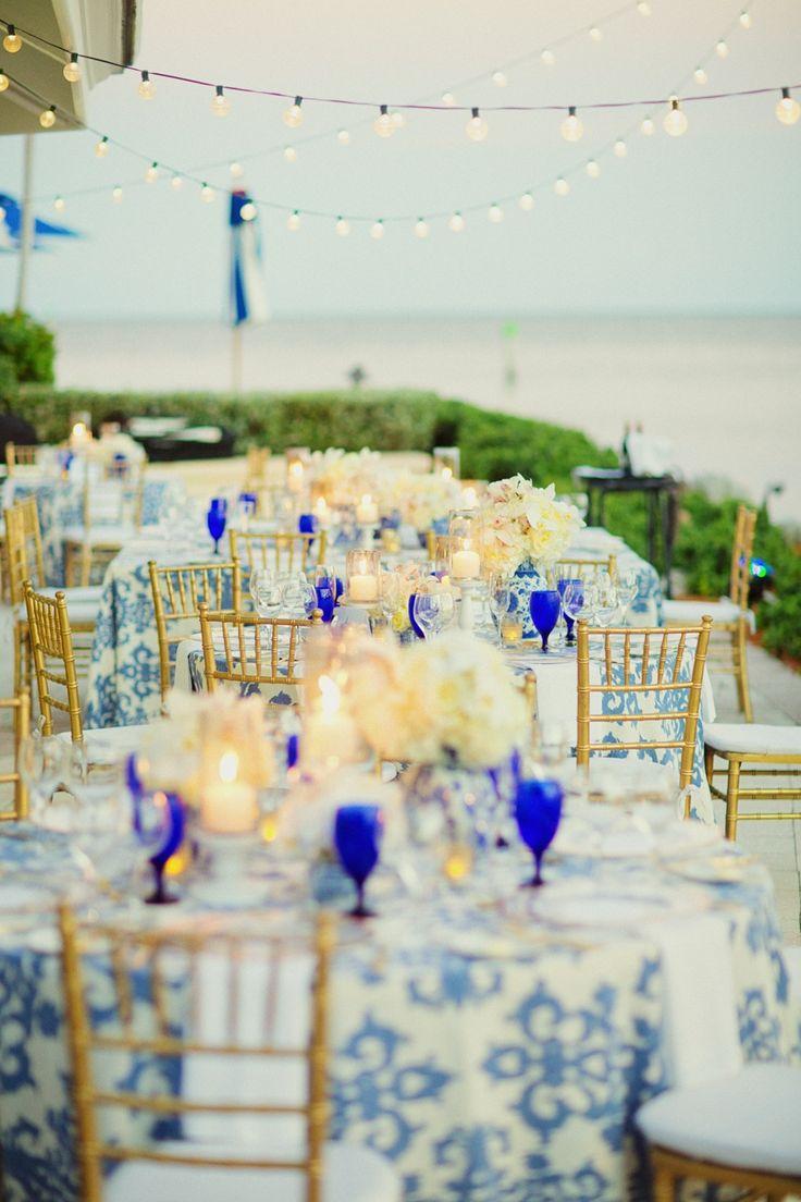 Classic Blue Florida Wedding at The Ocean Reef Club - MODwedding