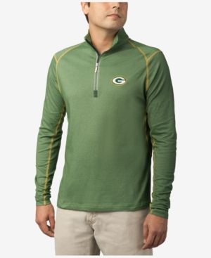 Tommy Bahama Men's Green Bay Packers Double Eagle Half-Zip Sweater - Green XXL