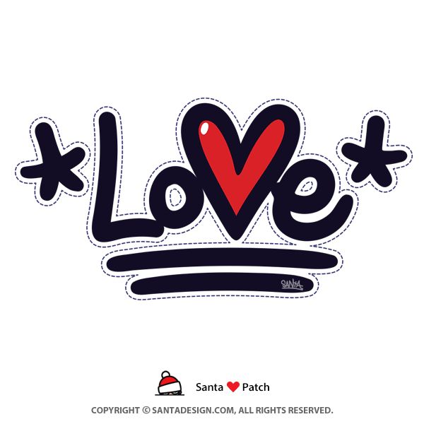 ♡ 패치로 올겨울 따뜻하게... / #Love #Heart #Patch #Graffiti #Tag #Tagging #사랑 #하트 #핥 #패치 / #다홍 #10살 #생일 #기념