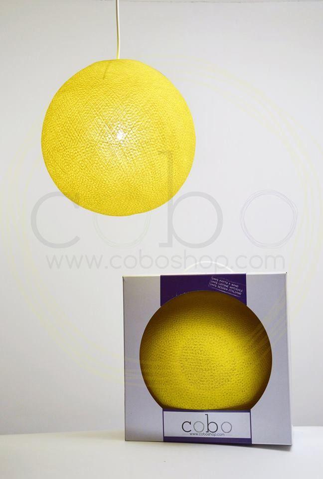 Cofanetto YELLOW!! Splendida COBOlampada dal colore giallo sole, racchiusa nel prezioso cofanetto!