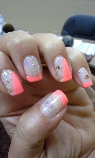 Gel Nail Designs For Summer 2014 Nails Pinterest Makeup