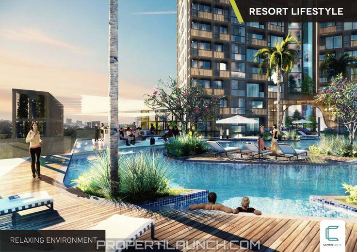Cambio Lofts Alam Sutera Swimming Pool #apartemencambiolofts