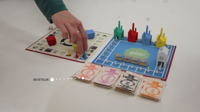 A film about a fictitious board game. We submitted this short for a competition, and we won! The competition was announced by the Hungarian Competition Authority and the theme was cartels.  The crew: Miklós Falvay Zoltán Fritz Emese Góg Dávid Lovas Domonkos Pinke