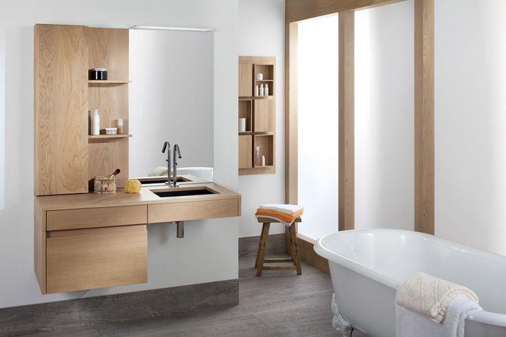 Inspiration : une salle de bains en bois | Inspiration bain | l'univers de la salle de bain