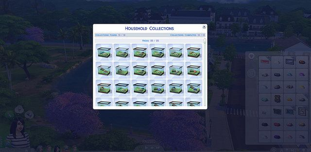 TS4 Collections & Collectibles List at Sims Vip via Sims 4 Updates