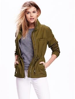 Canvas Field Jacket | Old Navy Like the color and cut