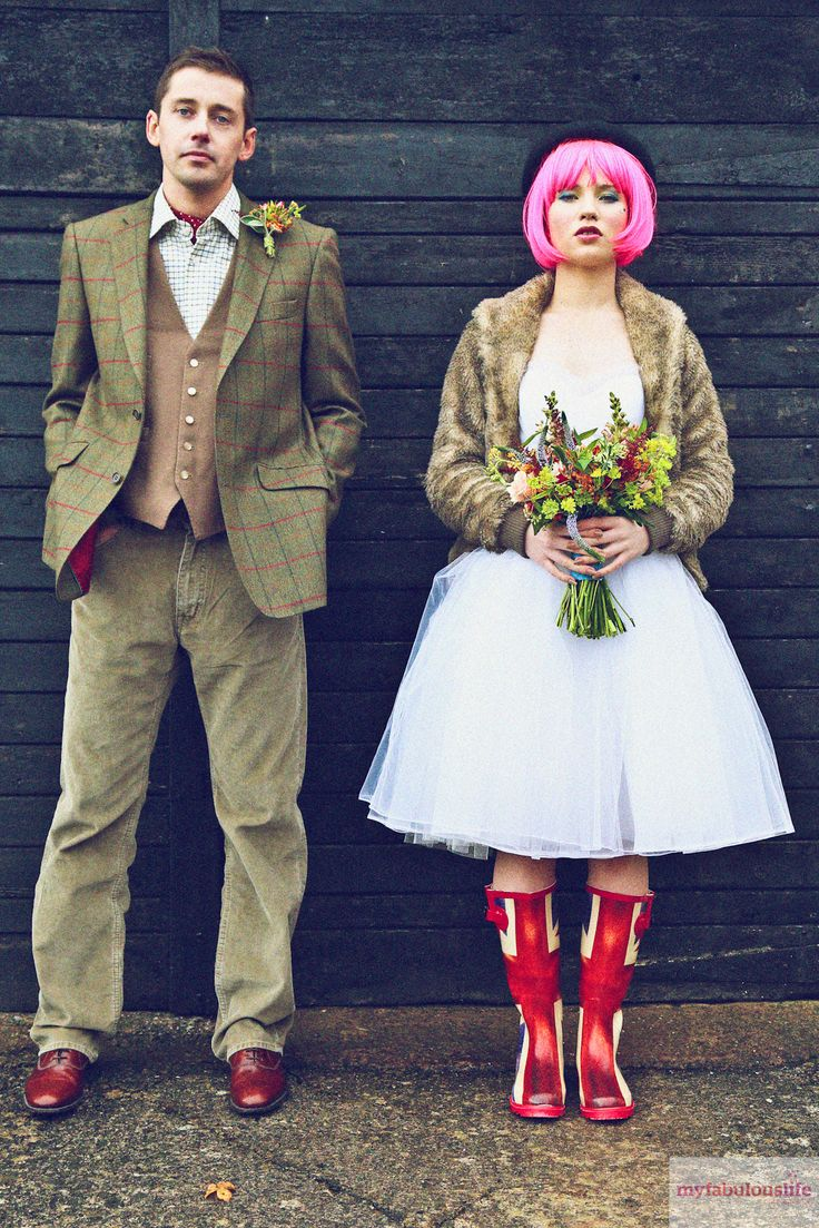 Festival/country wedding