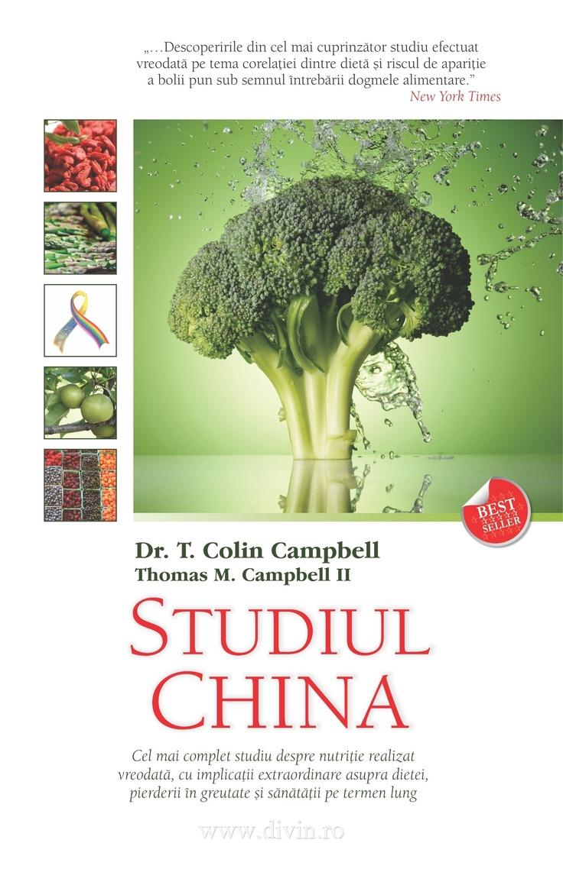 Studiul China de Thomas M. Campbell II - T. Colin Campbell - 29.25 lei - cu reducere 25% - Elefant.ro