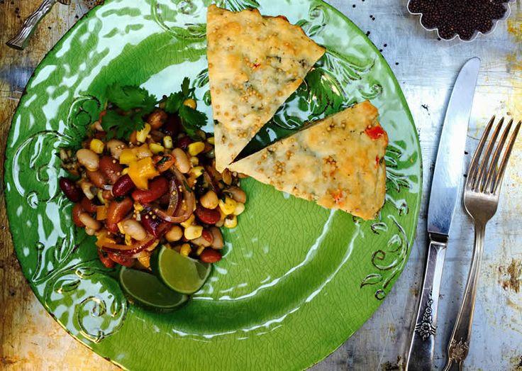 Mexican Spicy Bean Salad - SaskMustard