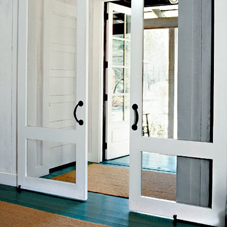 Roll out a seagrass hallway runner. It'll stand up to heavy foot traffic and make your house smell beachy.    Estimated cost: 2¼-by-7½-foot basket-weave seagrass runner, about $60; Overstock.com