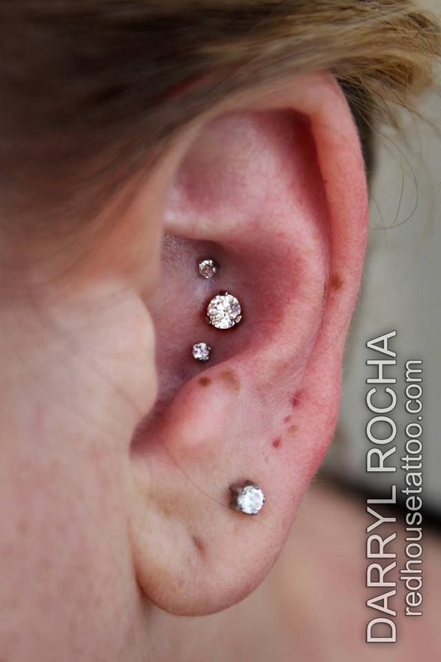 Triple conch piercing -- Wish list