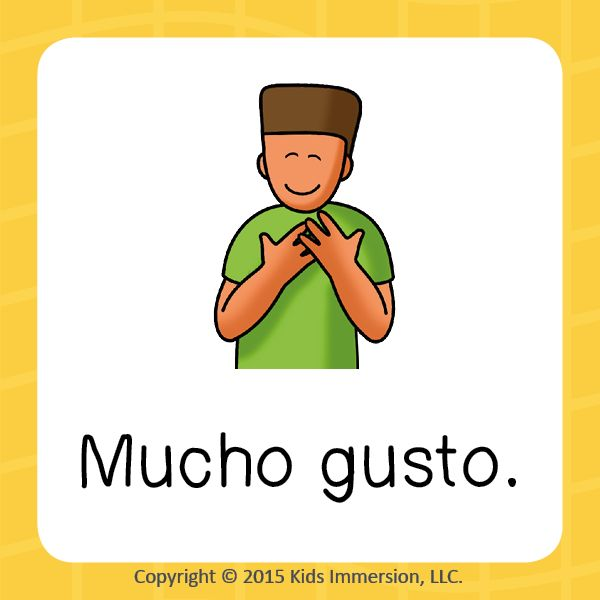 how to say excited meet you in spanish