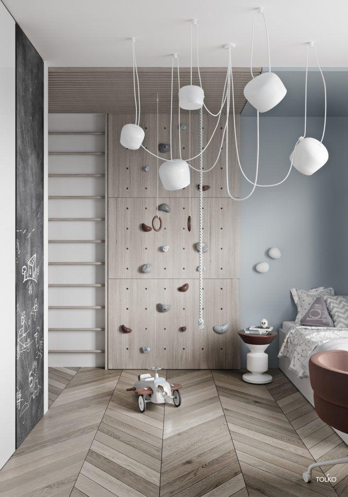 Cooles Kinderzimmer von TOL'KO Interiors – #Cool #Interiors #Kids #room #TOLKO