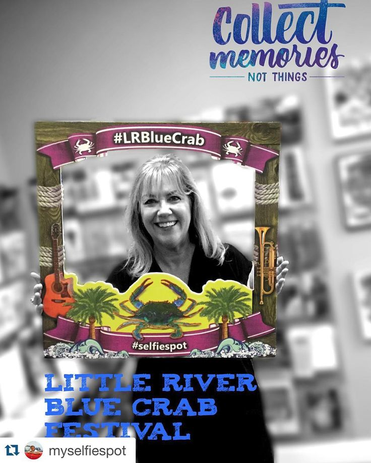 It may be three months away but we're so excited for the #LRBlueCrab #Festival! What do you think we should do for our 35th year?  #Repost @myselfiespot  #selfiespot #littleriversc #bluecrabfestival #bluecrabfestival2016 #familyvacation #hashtagdoctor #crab #crabfestival #food #seafood #bluecrab #instatravel