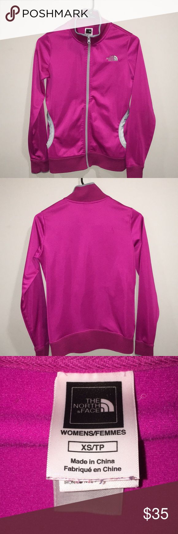 LADIES THE NORTH FACE FULL ZIP JACKET EXCELLENT USED CONDITION The North Face Jackets & Coats