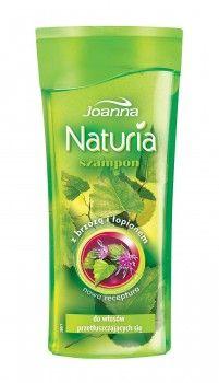 Szampon z brzozą i łopianem pomoże oczyścić i wzmocnić przetłuszczające się włosy.
