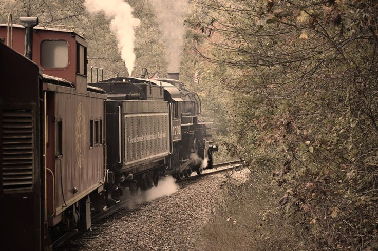 Steam engine, train ride Bryson City, NC by alfonso reyes on 500px