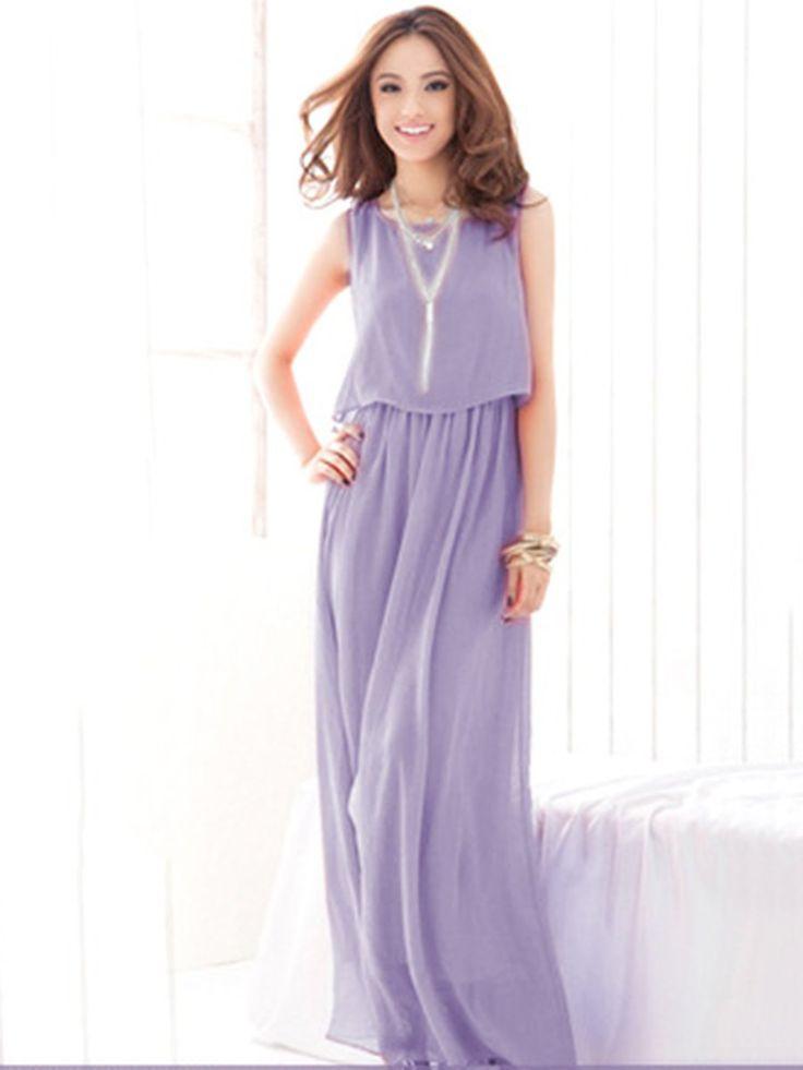 Asymmetric Sleeveless Boho Beach Dress online JustFashionNow.com.
