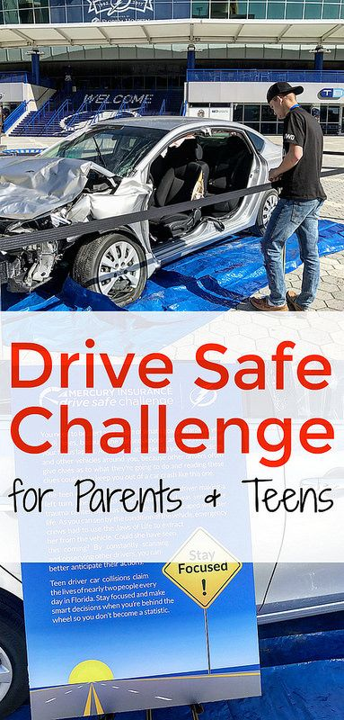 Drive Safe Challenge for Parents and Teens | Sponsored by Mercury Insurance #DriveSafeChallenge