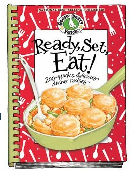 Ready, Set, Eat! is one of my favorite @Gooseberry Patch cookbooks