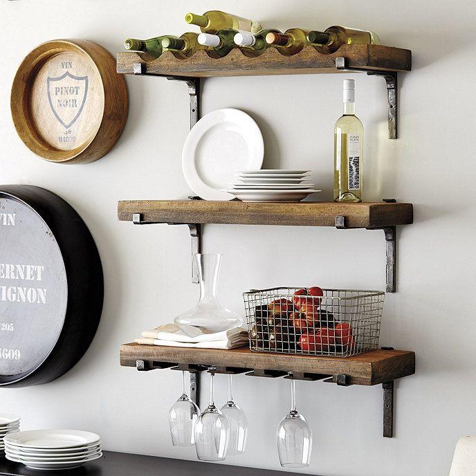 Vigneto Shelf Shelves Kitchen Design Home Decor