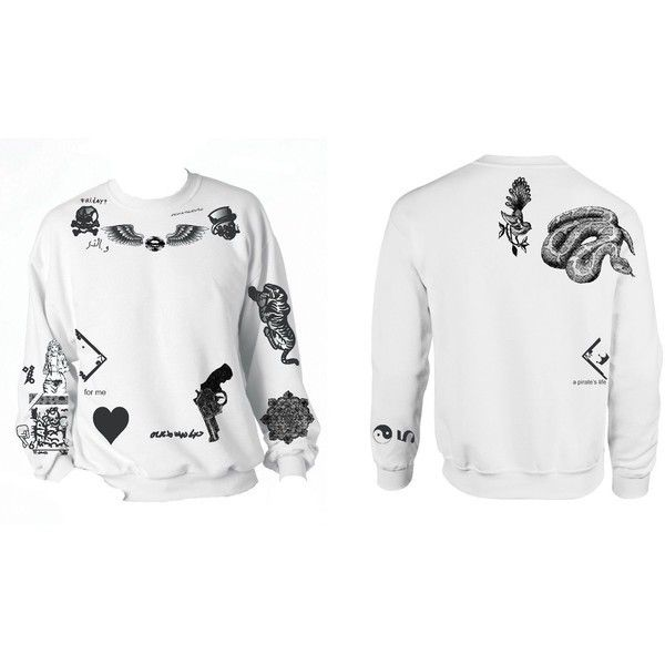 Zayne Malik Updated Tattoo Crewneck - Freshtops Marketplace