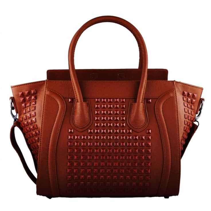 Dámské kabelky LS Fashion | Kabelky tvar Celine | Kabelka LS Fashion LS0038 hnědá | ZNAČKOVÉ KABELKY A TAŠKY - Bag Paradise - krásné kabelky, psaníčka, tašky, hodinky, bižuterie