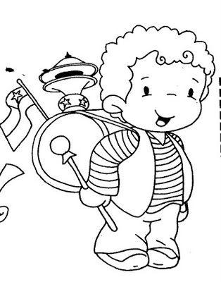 Busco Imágenes: dibujos fiestas patrias de chile, huaso, cueca,