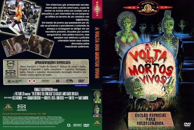 A Volta Dos Morto Vivos 1 1985 Em Dvd R Black39 Acervo Com