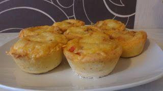 Deftige Bolognese - Muffins