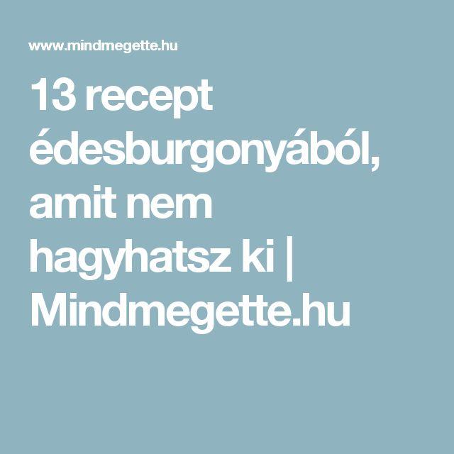 13 recept édesburgonyából, amit nem hagyhatsz ki | Mindmegette.hu