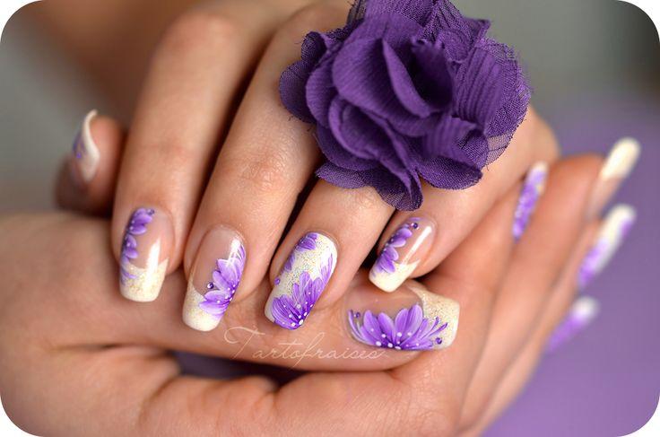 nail fleur - Cerca con Google