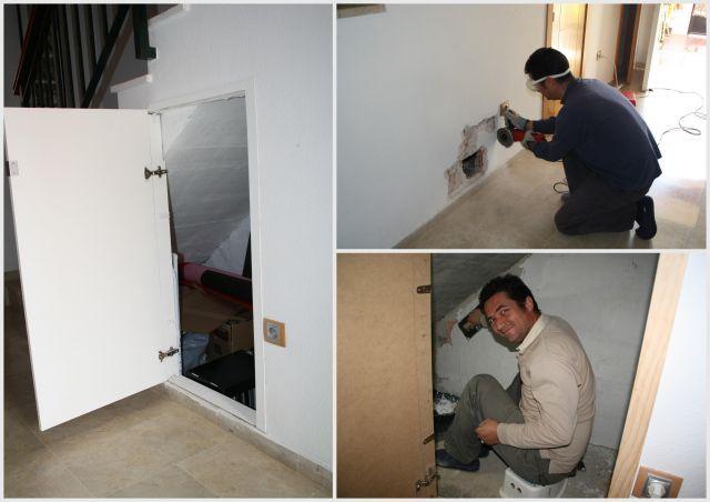 Ba o visitas bajo escalera decoracion buscar con google for Decoracion de espacios bajo la escalera