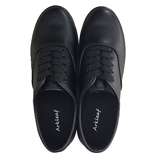 Arkleaf Women's Slip Oil Resistant Non Slip Work Safety Lace Up ARK001 Black Leather Flat Shoes http://stylexotic.com/arkleaf-womens-slip-oil-resistant-non-slip-work-safety-lace-up-ark001-black-leather-flat-shoes/