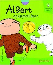 Albert og Skybert leker av Gunilla Bergström (Innbundet)
