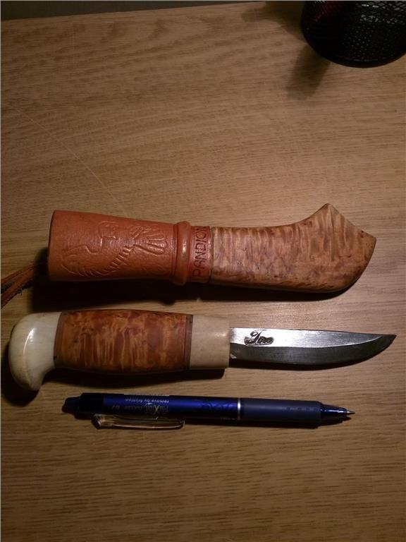kniv samekniv handgjorda på Tradera.com - Knivar från Skandinavien |