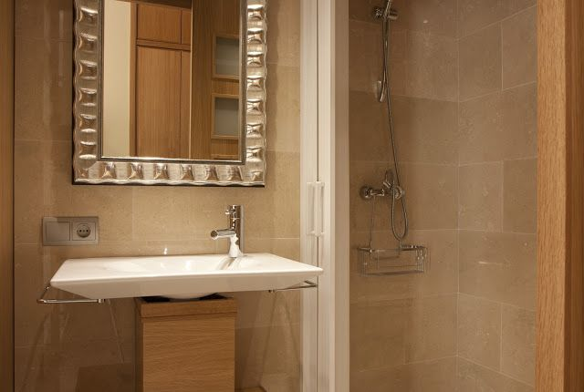 Seville Flor Naranja Aparment : Bathroom. Aseo