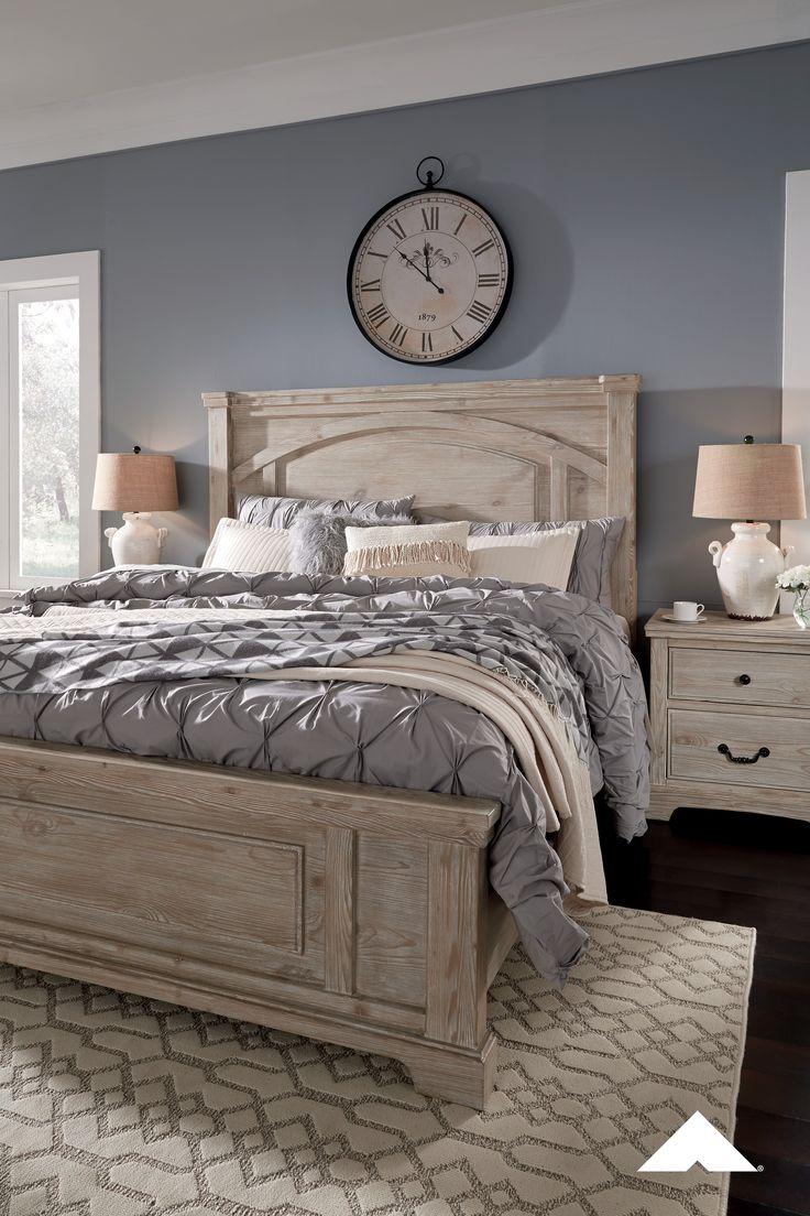 Charmyn bedroom set by ashley furniture pastoral charm