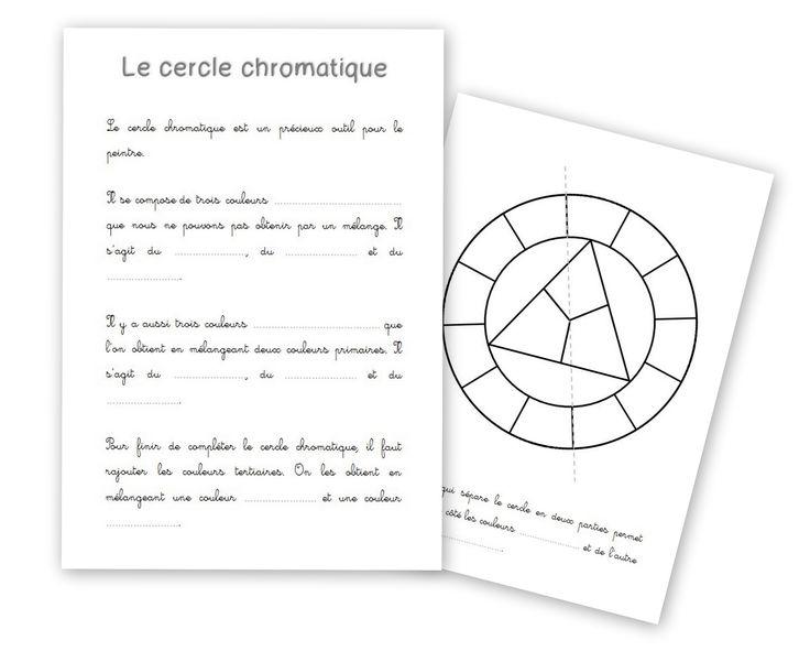 15 best projet musette souricette images on pinterest - Le cercle chromatique ...