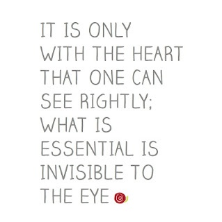 """Planning on getting this quote tattooed on my side/rib area in it's original French <3 """"on ne voit bien qu'avec le coeur. l'essentiel est invisible pour les yeux"""""""