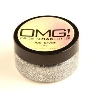 OMG 2-oz. Idol Silver Original Max Glitter Paint 12821 at The Home Depot - Mobile