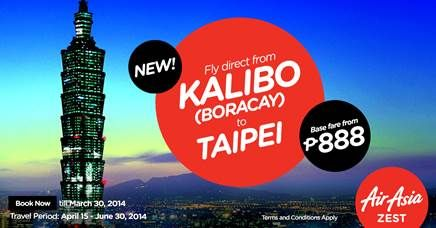 AirAsia Zest increases Manila-Incheon to 2X daily, adds new direct flights from Kalibo (Boracay) starting 15th April - http://outoftownblog.com/airasia-zest-increases-manila-incheon-2x-daily-adds-new-direct-flights-kalibo-boracay-starting-15th-april/