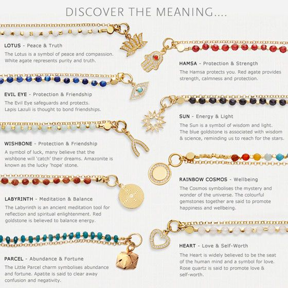 Each Bracelet Is Full Of Meaning And Symbolism Discover What Your Signifies